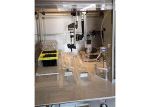Automated homogenization and sample preparation of feces samples