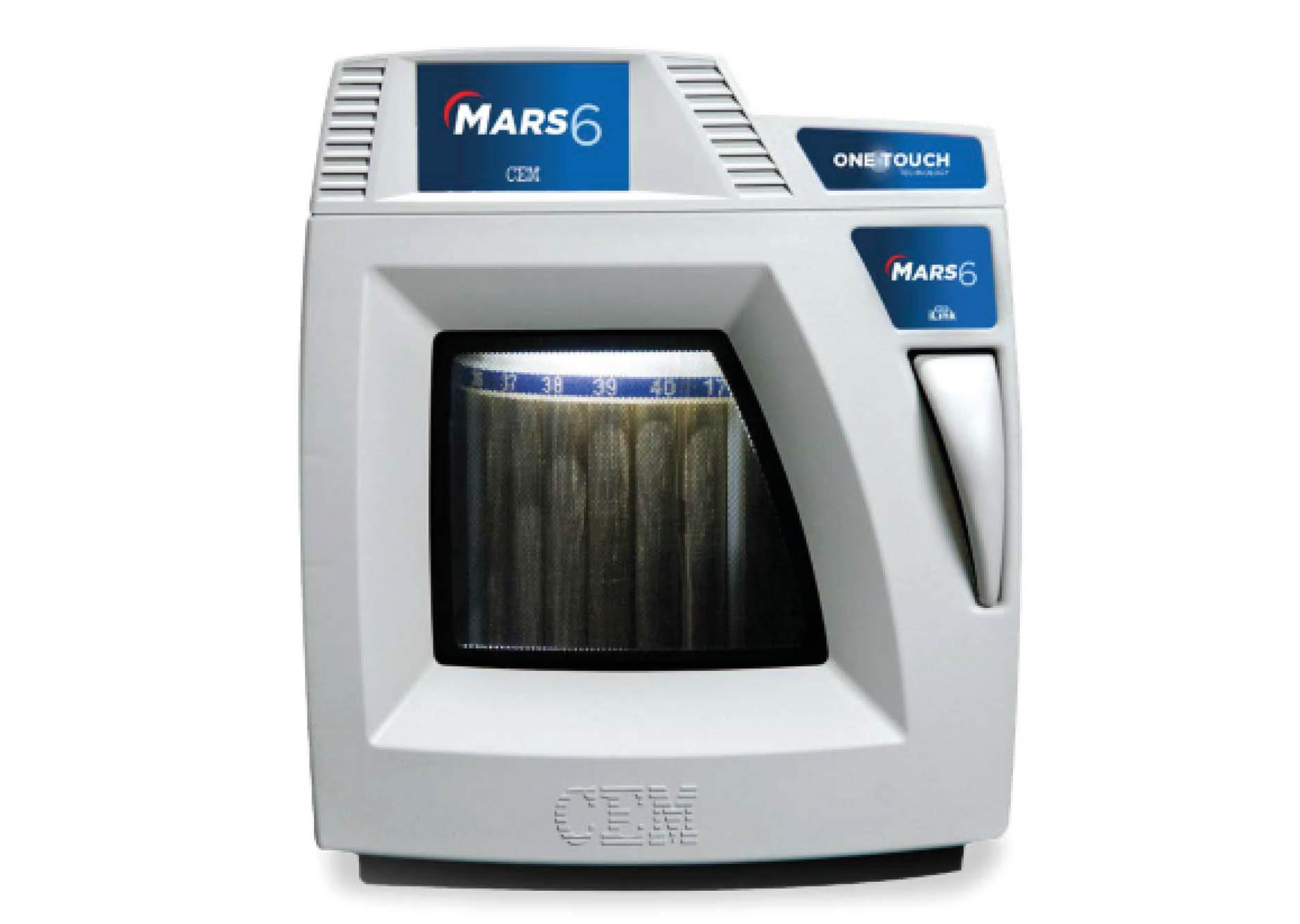 Microwave sample preparation